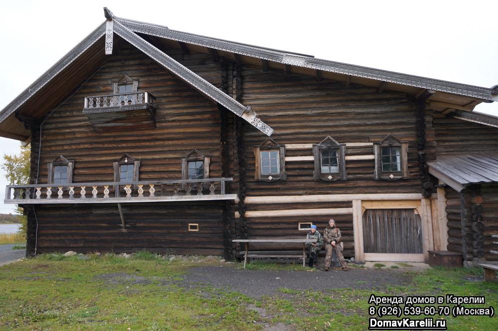 домик для отдыха и рыбалки в карелии