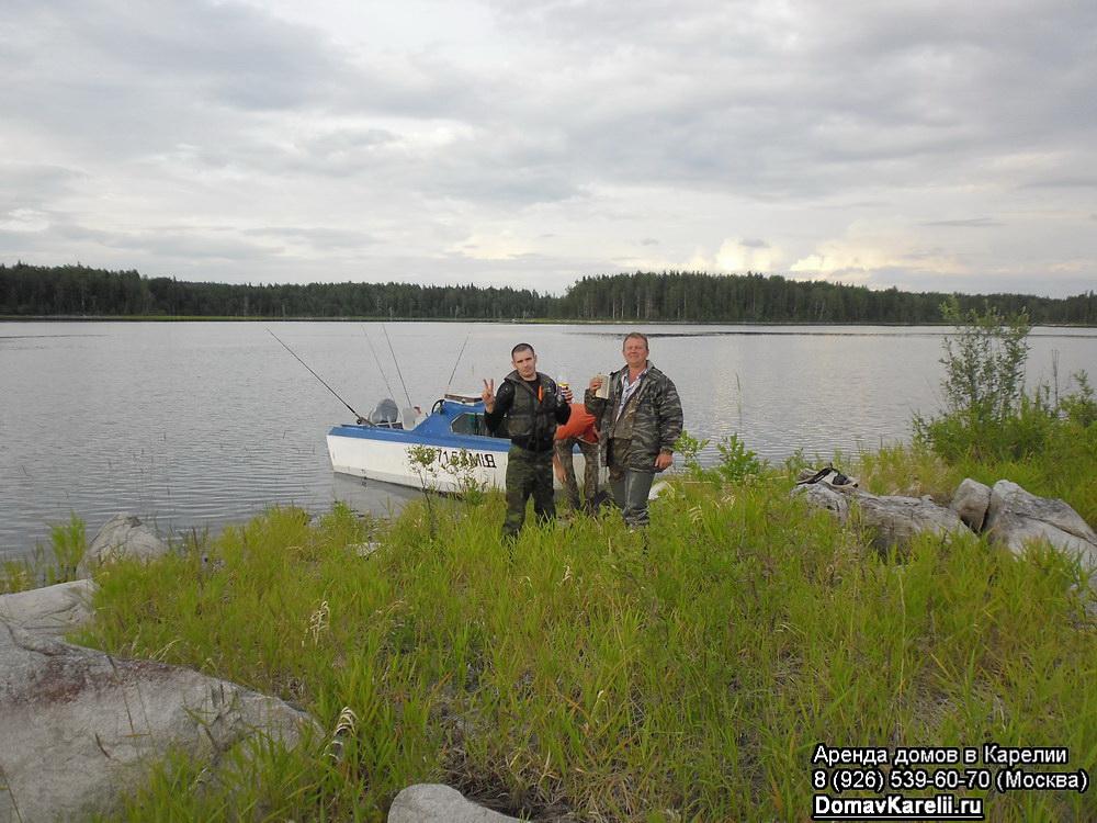 рыбалка в мае в карелии дикарями